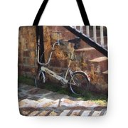 Folding Bicycle Antigua Tote Bag