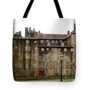 Fonthill Castle In The Rain  Tote Bag