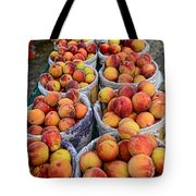 Food - Harvested Peaches Tote Bag