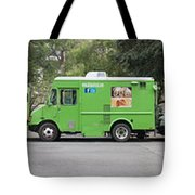 Food Trucks Tote Bag