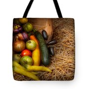 Food - Vegetables - Very Early Harvest Tote Bag