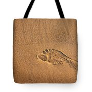 Foot Print Tote Bag