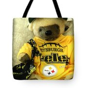 Football Bear Tote Bag