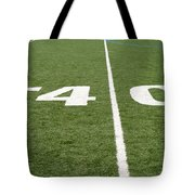 Football Field Forty Tote Bag