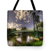 Footbridge Over The Severn  Tote Bag