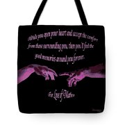 For Love Of Mathew Tote Bag