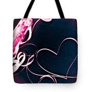 For The Love Of Music Tote Bag