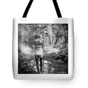 For Thou Art With Me Tote Bag