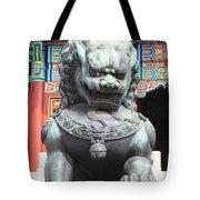 Forbidden City Lion Guardian Tote Bag
