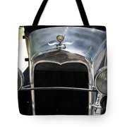 Ford A 1931 Headlights Tote Bag
