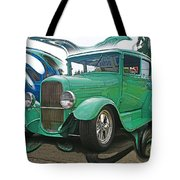 Ford Abstract Tote Bag