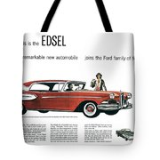 Ford Cars: Edsel, 1957 Tote Bag