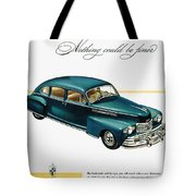 Ford Lincoln Ad, 1946 Tote Bag
