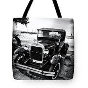 Ford Model T Film Noir Tote Bag