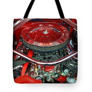 Ford Mustang Engine Bay Tote Bag