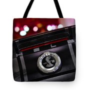 Ford Mustang Shelby Gt500 Super Snake  Tote Bag