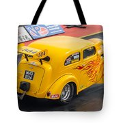Ford Popular Drag Racer Tote Bag