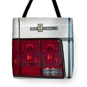 Ford Shelby Cobra Gt 500 Taillight Tote Bag