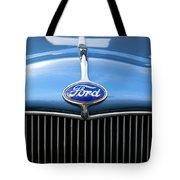 Ford Truck Emblem Tote Bag