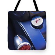 Ford V8 Taillight And Gas Cap Tote Bag
