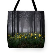 Forest Daffodils Tote Bag