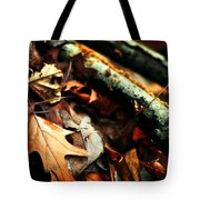 Forest Fade Away Tote Bag by Rebecca Sherman