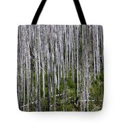 Forest Fire Sticks-2 Tote Bag