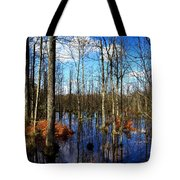 Forest In Colorful Fall Tote Bag