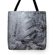 Forest Lace Tote Bag