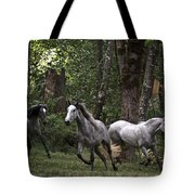 Forest Mares Tote Bag
