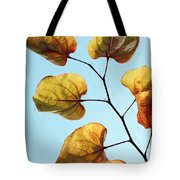 Forest Pansy Autumn Tote Bag