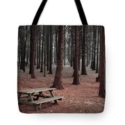 Forest Table Tote Bag