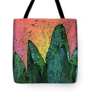 Forests Edge Tote Bag