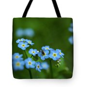Forget-me-nots In Treman State Park, Ny Tote Bag