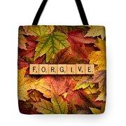 Forgive-autumn Tote Bag