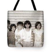 Forgotten Faces 1 Tote Bag