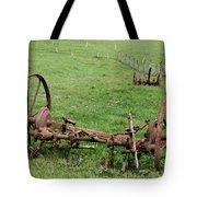 Forgotten Farm Equipment Tote Bag