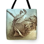 Forgotten Rose Tote Bag