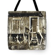 Forgotten Wooden House Tote Bag