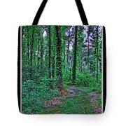 Forrest Trail Tote Bag