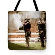 Fort Delaware Military Tote Bag