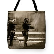 Fort Delaware Soldiers Tote Bag