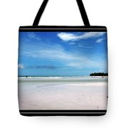 Fort Desoto Beach Tote Bag