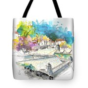 Fort In Valenca In Portugal 01 Tote Bag
