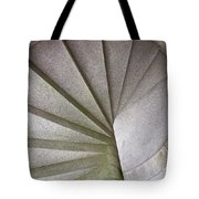 Fort Knox Granite Spiral Staircase Tote Bag