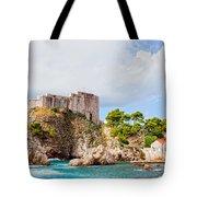 Fort Lovrijenac In Dubrovnik Tote Bag