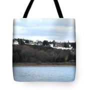 Fort Mackinac And The Governor's Summer Residence Tote Bag