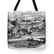 Fort Mackinac, C1814 Tote Bag