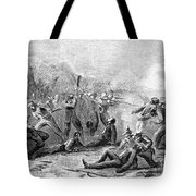 Fort Pillow Massacre, 1864 Tote Bag