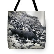 Fort Sumter Civil War Debris - C 1865 Tote Bag